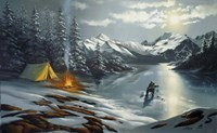 Ice Fishing Fine-Art Print
