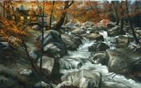 Cabin Autumn Fine-Art Print
