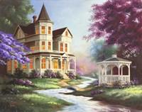 House Gazebo Fine-Art Print