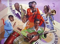 Musicians Fine-Art Print