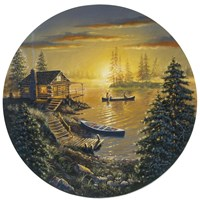 Fishing Cabin Fine-Art Print