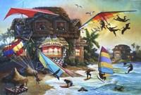 Banana Cabana Fine-Art Print