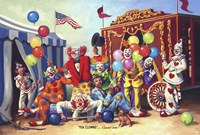 Ten Clowns Fine-Art Print
