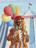 Clown Balloons Fine-Art Print