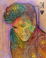 Elvis - King of Hearts Fine-Art Print