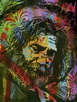 Jerry Garcia Playing Fine-Art Print