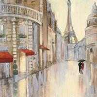 Touring Paris Couple III Fine-Art Print
