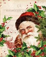Vintage Holiday IV Fine-Art Print