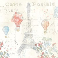 Lighthearted in Paris IV Fine-Art Print