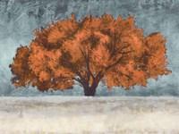 Orange Oak Fine-Art Print