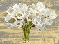 Washed Tulips (Ash & Gold) Fine-Art Print