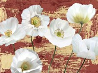 Washed Poppies (Red & Gold) Fine-Art Print