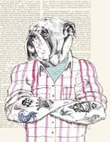 Hipster Socialite Fine-Art Print