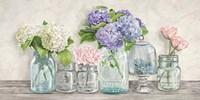 Flowers in Mason Jars Fine-Art Print