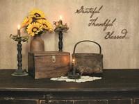 Grateful, Thankful, Blessed Fine-Art Print