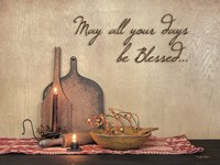 May All Your Days be Blessed Fine-Art Print