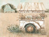 Fresh Flowers for Sale Fine-Art Print
