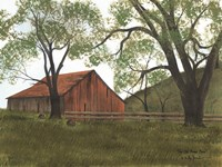 The Old Brown Barn Fine-Art Print