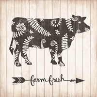 Farm Fresh Cow Fine-Art Print