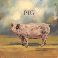 Piper the Pig Fine-Art Print