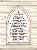 Ten Commandments Fine-Art Print