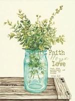 Faith, Hope, Love and Eucalyptus Fine-Art Print