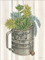 Enjoy the Moment Succulents Fine-Art Print