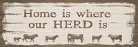 Home is Where Our Herd Is Fine-Art Print