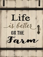 Life is Better on the Farm Fine-Art Print