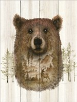 Bear Wilderness Portrait Fine-Art Print