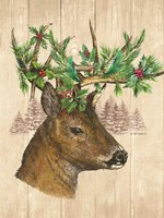 Holiday Deer Fine-Art Print