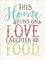 Love, Food and Laughter Fine-Art Print