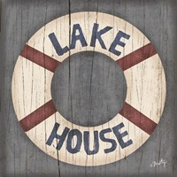 Lake House Fine-Art Print