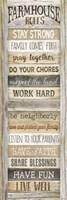 Farmhouse Rules Fine-Art Print