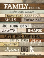 Family Rules Fine-Art Print