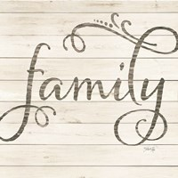 Simple Words - Family Fine-Art Print