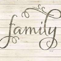 Simple Words - Family Fine-Art Print