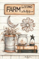 Farm Living is the Life for Me Fine-Art Print