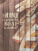 Home is Where the Boat is Docked Fine-Art Print