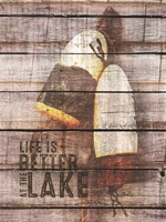 Life is Better at the Lake Fine-Art Print