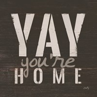 Yay You're Home Fine-Art Print