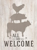 All Our Welcome Fine-Art Print