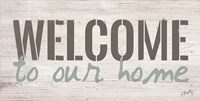 Welcome to Our Home Fine-Art Print