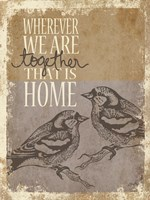 Together is Home Fine-Art Print