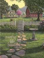Country Life is Beautiful Fine-Art Print