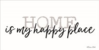 Home is My Happy Place Fine-Art Print