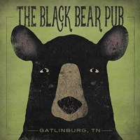 The Black Bear Pub Fine-Art Print