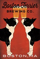 Boston Terrier Brewing Co Boston Fine-Art Print