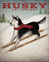 Husky Ski Co Fine-Art Print