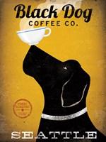 Black Dog Coffee Co Seattle Fine-Art Print